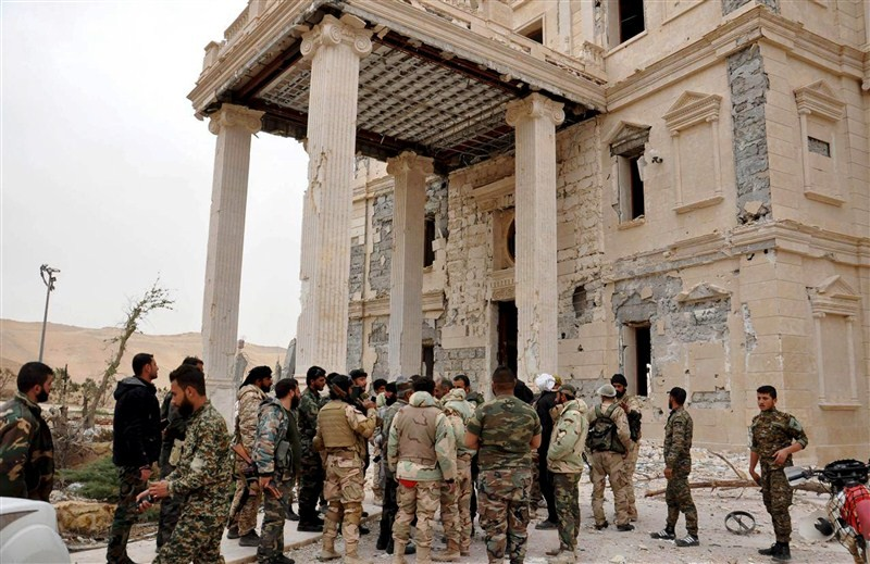 Palmyra recaptured from ISIS,Palmyra recaptured,Palmyra,Islamic State,Syrian government,ancient temples,Syria and Iraq,Russian and Syrian air strikes