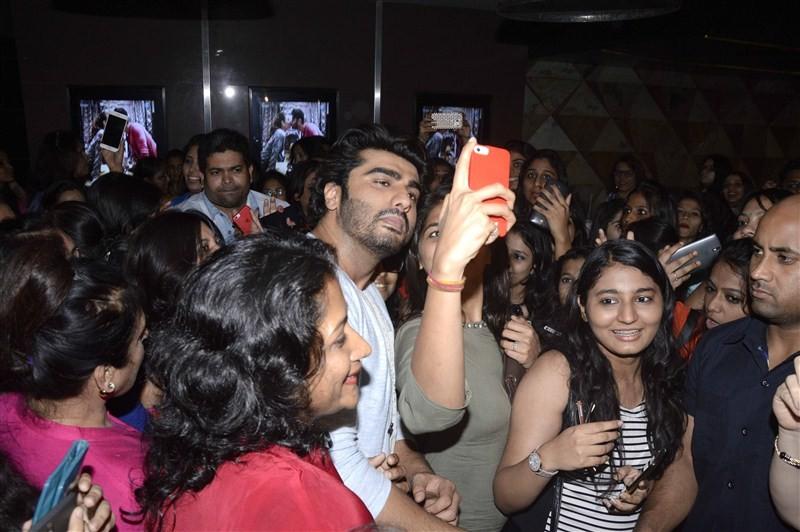 Arjun Kapoor,Arjun Kapoor at special screening of film Ki & Ka,Ki & Ka special screening,Ki & Ka,bollywood movie Ki & Ka,Ki & Ka special screening pics,Ki & Ka special screening images,Ki & Ka special screening stills,Ki &