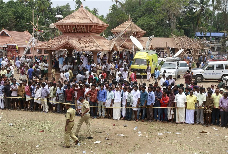 Kerala temple tragedy,temple tragedy,Kollam,Kollam Temple,Paravur,Puttingal Devi temple,Puttingal Devi Temple fire