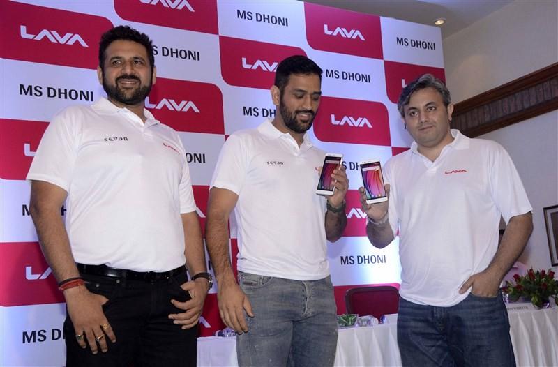 MS Dhoni,Dhoni,Lava introduces MS Dhoni as its brand ambassador,MS Dhoni Named as Lava's Brand Ambassador,Dhoni as Lava's Brand Ambassador,Lava,Lava Brand Ambassador,Lava Mobile,MS Dhoni becomes Brand Ambassador for Lava