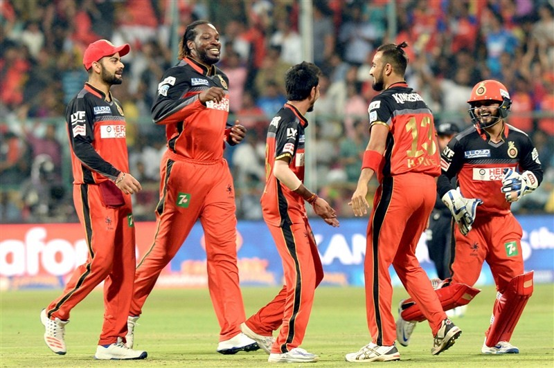 Royal Challengers Bangalore,RCB,Royal Challengers defeat Sunrisers by 45 runs,Royal Challengers defeat Sunrisers,Sunrisers Hyderabad,Shane Watson,Yuzvendra Chahal,IPL,IPL 2016,Indian Premier League,Indian Premier League 2016