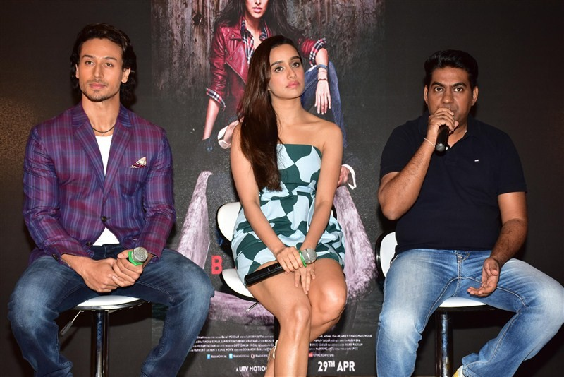 Baaghi,Tiger Shroff and Shraddha Kapoor,Tiger Shroff,Shraddha Kapoor,Action song,Tiger,Shraddha launches Action song,Tiger,Shraddha launches Action song from Baaghi movie