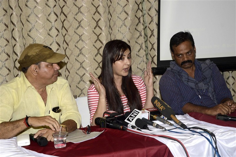 Television actor Shilpa Shinde,Shilpa Shinde press conference,Shilpa Shinde,CINTAA,press conference on CINTAA,Shilpa Shinde pics,Shilpa Shinde images,Shilpa Shinde photos,Shilpa Shinde stills,Shilpa Shinde pictures