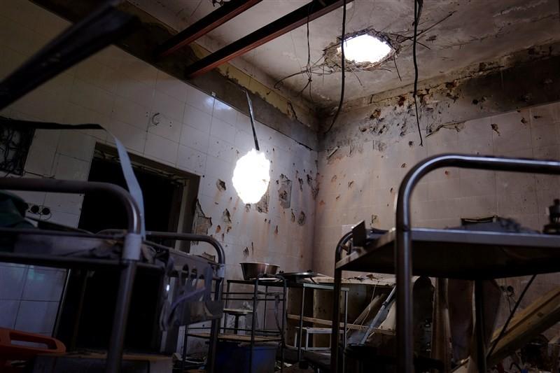MSF Afghan hospital,Afghan hospital,Inside the bombed MSF Afghan hospital,bombed MSF Afghan hospital,Pentagon
