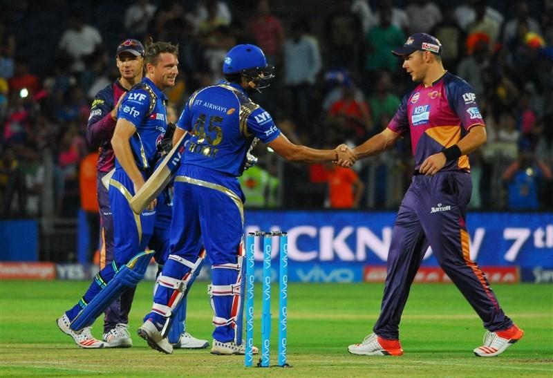Mumbai Indians beat Rising Pune Supergiants by 8 wickets,Mumbai Indians beat Rising Pune Supergiants,Mumbai Indians vs Rising Pune Supergiants,Mumbai Indians,Rising Pune Supergiants,Indian Premier League,Indian Premier League 2016,Indian Premier League 9