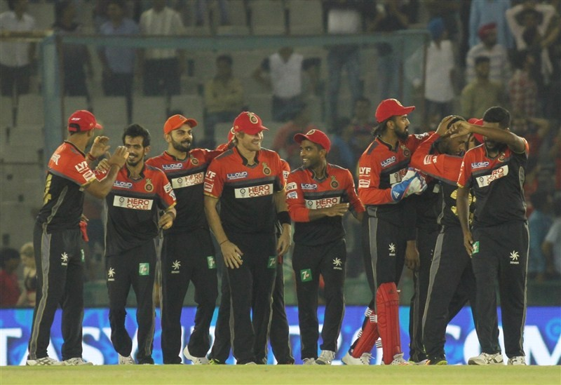 RCB beat KXIP by 1 run,RCB beat KXIP,RCB trash KXIP,Kings XI Punjab,Royal Challengers Bangalore,Indian Premier League,Indian Premier League 2016,Indian Premier League 9,IPL 2016,IPL pics,IPL images,IPL photos