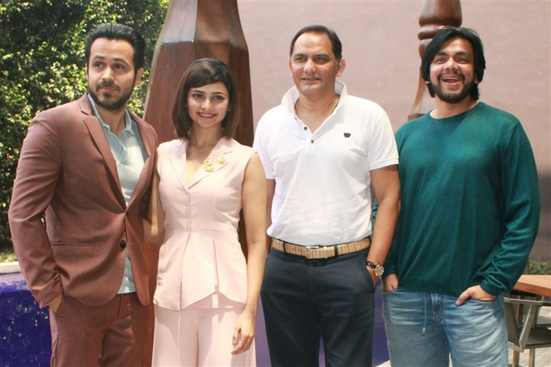 Azhar,Azhar press meet,Bollywood movie Azhar,Emraan Hashmi,Prachi Desai,Mohammad Azharuddin,Azhar press meet pics,Azhar press meet images,Azhar press photos,Azhar press stills,Azhar press pictures
