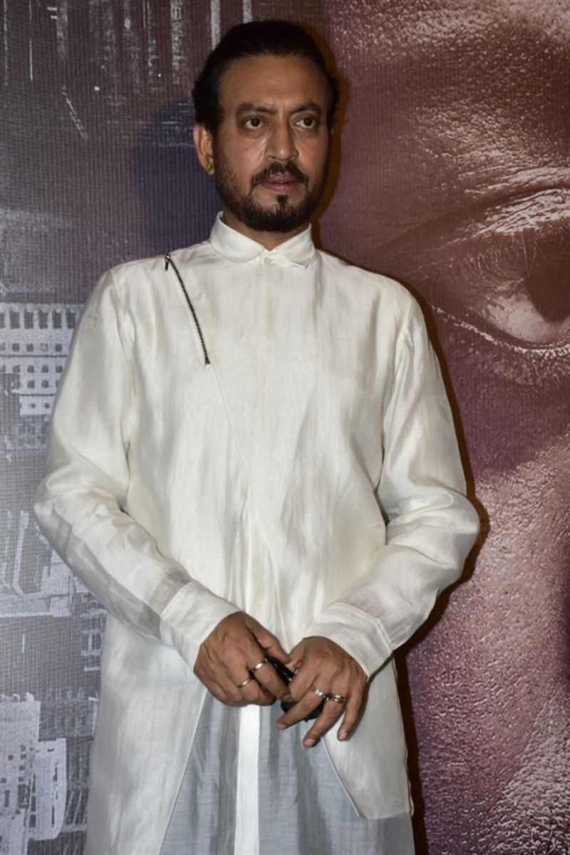 Irrfan Khan,Irrfan Khan with his son,Madaari trailer,Madaari,Madaari trailer launch,Madaari trailer launch pics,Madaari trailer launch images,Madaari trailer launch photos,Madaari trailer launch stills,Madaari trailer launch pictures,Ayan Khan