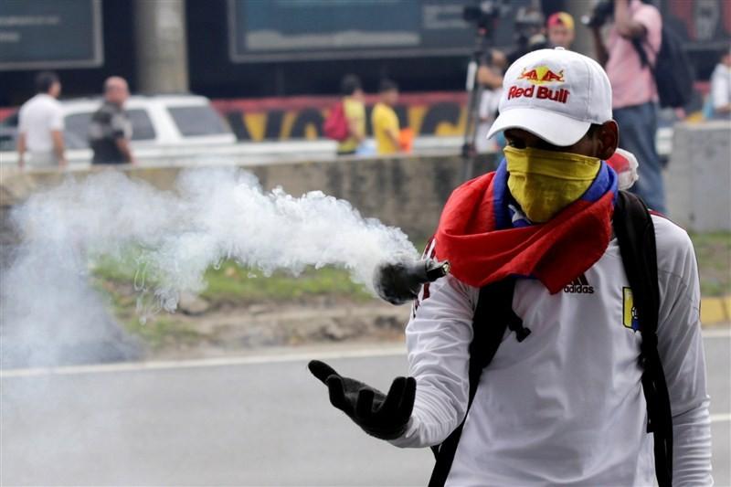 Venezuela,Opposition protests in Venezuela,protests in Venezuela,President Maduro,Venezuelan National Guards,Venezuela protest
