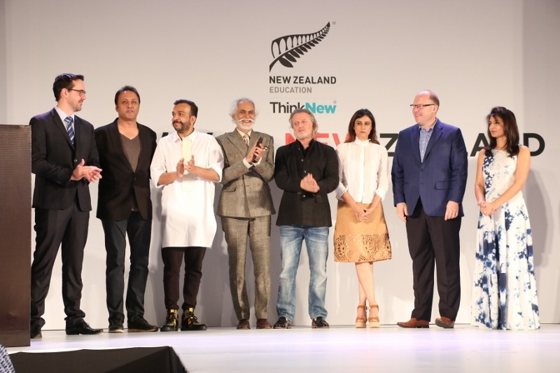 NZ fashion school,FDCI president Sunil Sethi,Sunil Sethi,Megha Sharma,New Zealand fashion school,fashion school