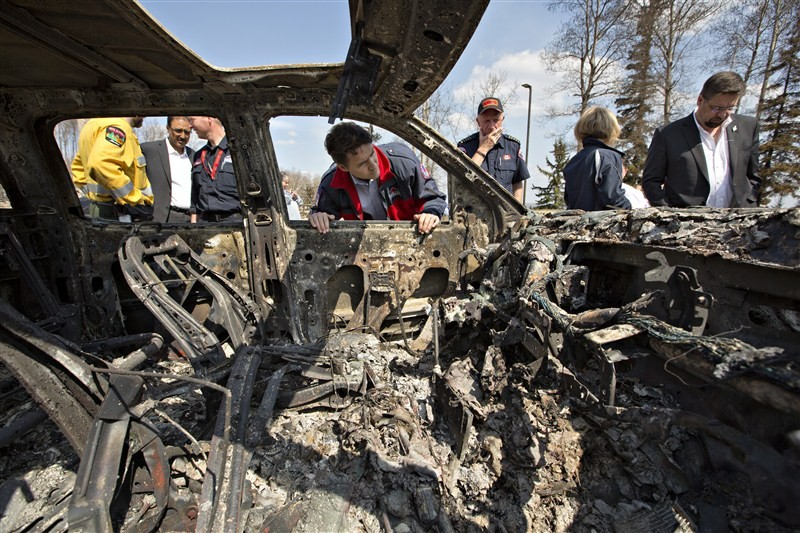 Trudeau visits Fort McMurray,Justin Trudeau,Prime Minister Justin Trudeau,Fort McMurray,Trudeau at Fort McMurray