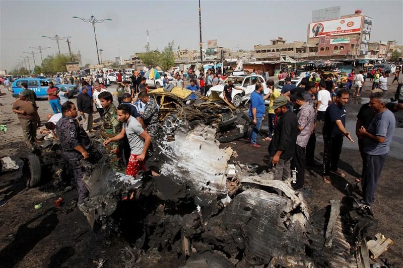 Baghdad,blast in Baghdad,Baghdad bomb blast,Baghdad blast,Baghdad bombing,Iraq
