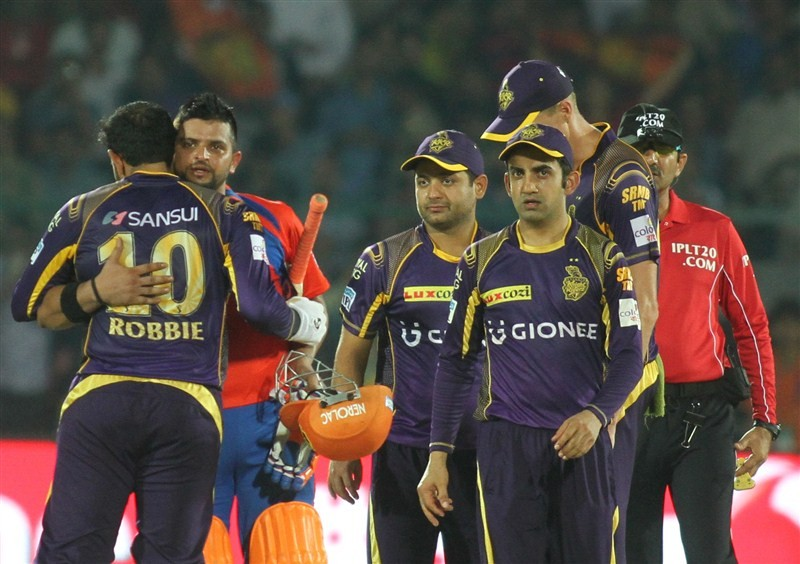 Gujarat Lions,Kolkata Knight Riders,Gujarat Lions beat Kolkata Knight Riders,Gujarat Lions trash Kolkata Knight Riders,Suresh Raina,Dwayne Smith,KKR,Indian Premier League,Indian Premier League 2016,Indian Premier League pics,IPL pics,IPL images,IPL photos