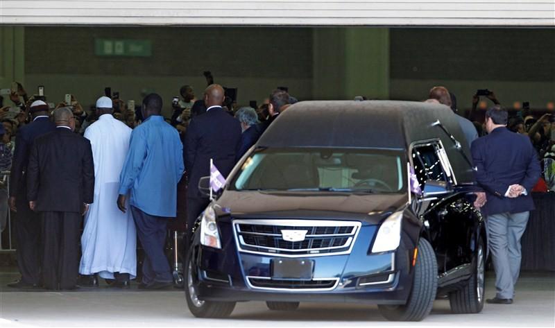 Muhammad Ali,Muhammad Ali funeral,Boxer Don King,Boxer promoter Don King,Muhammad Ali funeral pics,Muhammad Ali funeral images,Muhammad Ali funeral photos,Muhammad Ali funeral stills,Muhammad Ali funeral pictures,Sugar Ray Leonard