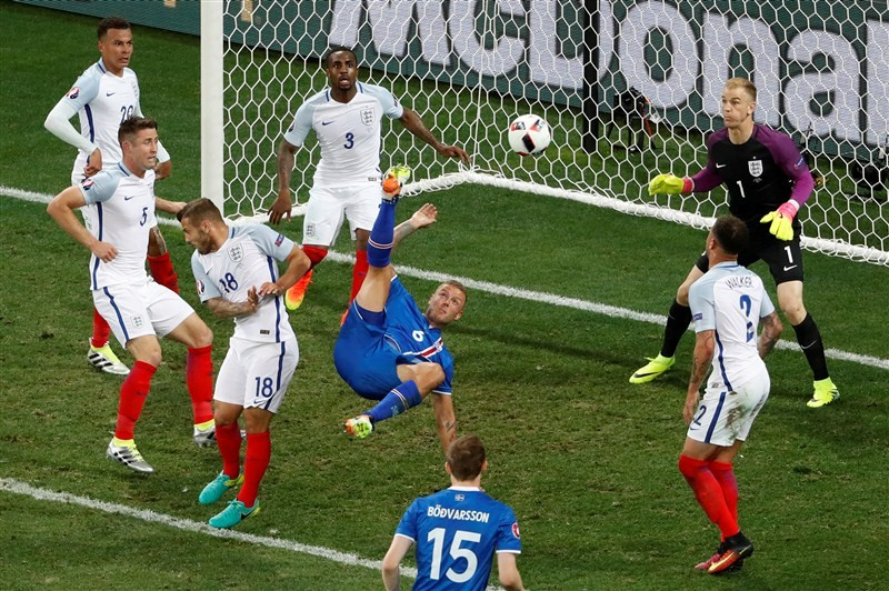 Iceland shock England,Iceland shock England 2-1,Iceland reachs Euro 2016 quarterfinal,Euro 2016 quarterfinal,Euro 2016,Iceland face France,European Championship,European Championship 2016