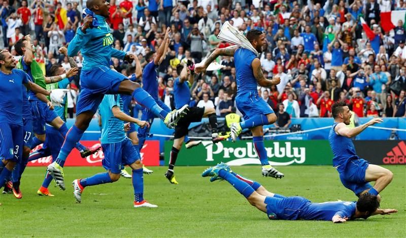 Italy vs Spain,Italy beat Spain,Euro football championship,Euro football championship pre-quarterfinal,Euro football pre-quarterfinal,Euro 2016