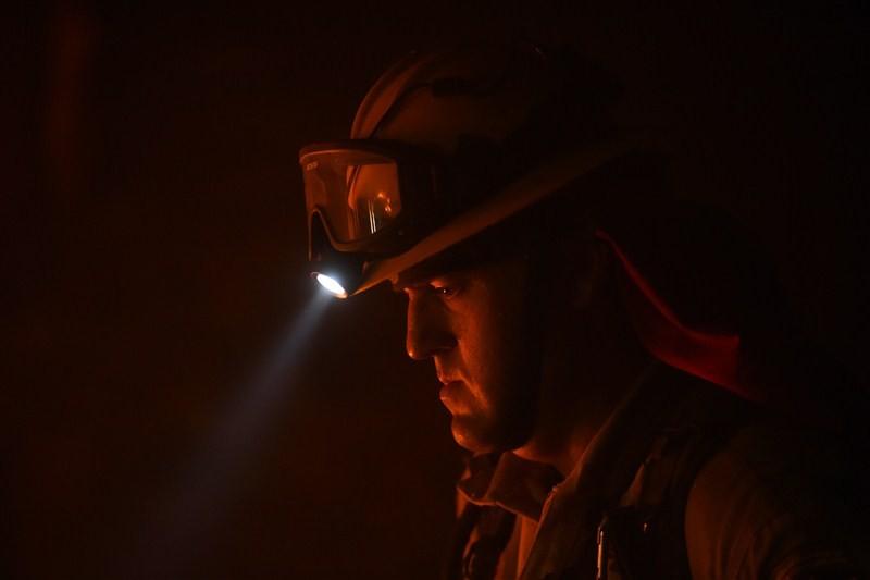 Big Sur burning,California's Big Sur burning,Firefighters battle,Soberanes Fire,Soberanes Fire in northern California,Soberanes Fire in California