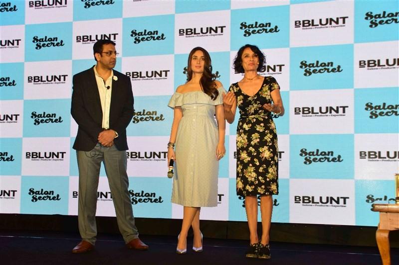 Kareena Kapoor Khan,Kareena Kapoor launches BBLUNT Salon Secret,Kareena Kapoor,BBLUNT Salon Secret,Kareena Kapoor baby bump,Kareena Kapoor latest pics,Kareena Kapoor latest images,Kareena Kapoor latest photos,Kareena Kapoor latest stills,Kareena Kapoor la