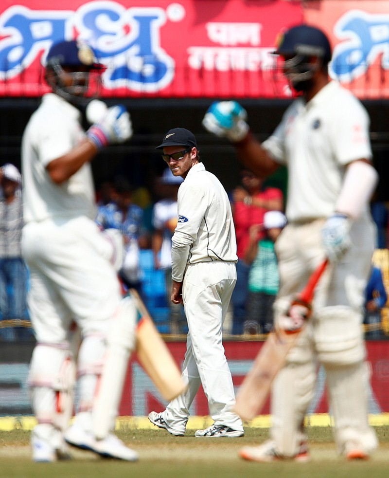 India vs New Zealand,Cheteshwar Pujara hits 8th Test ton,Cheteshwar Pujara,Cheteshwar Pujara 8th century,Cheteshwar Pujara century,India vs New Zealand,3rd Test,India vs New Zealand Test series,India vs New Zealand 3rd Test,India vs New Zealand pics,Indi
