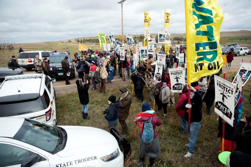 North Dakota pipeline protest,pipeline protest,North Dakota protest,violent clashes,Dakota Access oil pipeline project,Dakota oil pipeline project,Native American