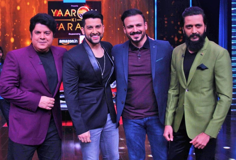 Aftaab Shivdasani,Vivek Oberoi,Aftaab Shivdasani and Vivek Oberoi,Yaaron Ki Baraat,ZEE TV's show Yaaron Ki Baraat,Reitesh Deshmukh