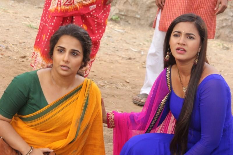 Vidya Balan,Chakor,Vidya Balan and Chakor,Durga Rani Singh,Kahaani 2,Kahaani 2 promotion,Meera Deosthale