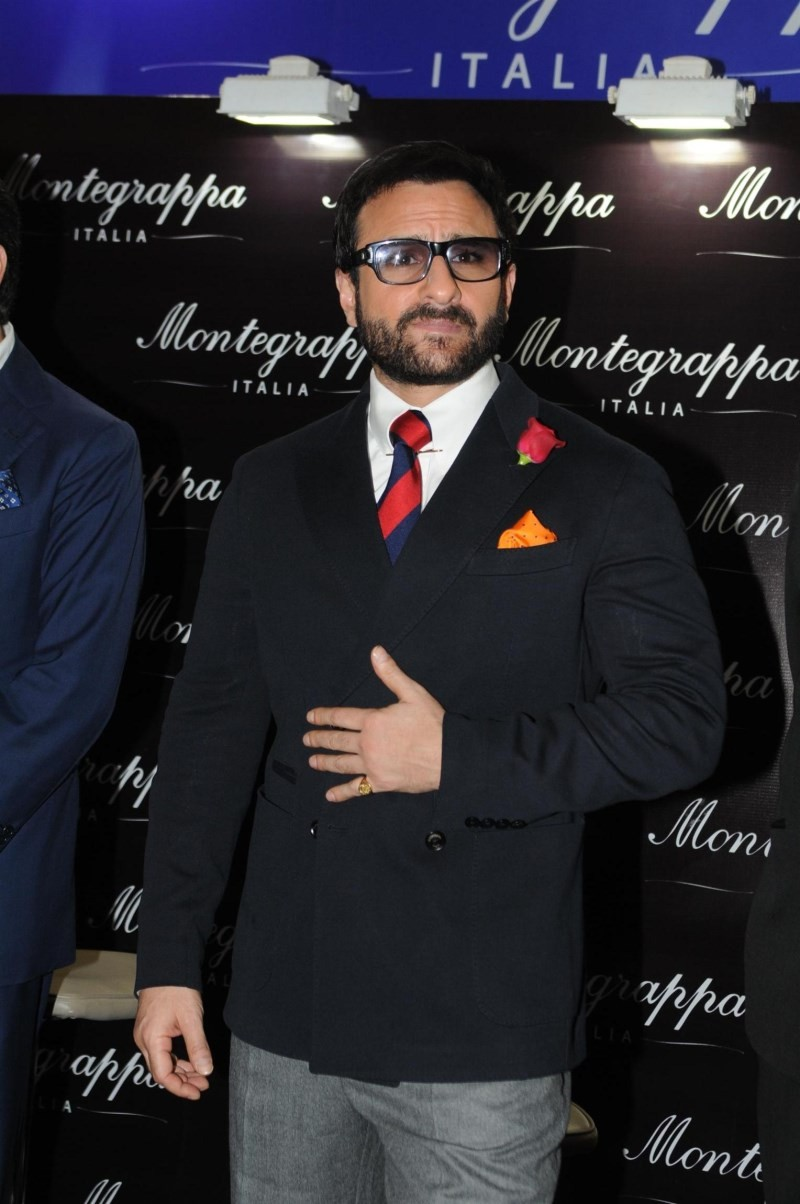 Saif Ali Khan Launches Montegrappa Italy Luxury Brand Watch,Saif Ali Khan,actor Saif Ali Khan,Saif Ali Khan pics,Saif Ali Khan images,Saif Ali Khan photos,Saif Ali Khan stills,Montegrappa Italy Luxury Brand Watch,Montegrappa Italy watch