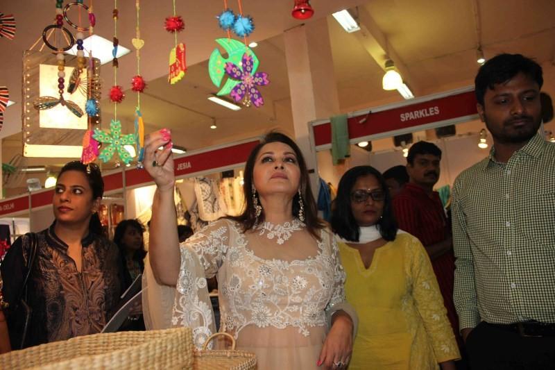 Jaya Prada Launches Society Collection 2015 Exhibition,Jaya Prada,actress Jaya Prada,Jaya Pradha,actress Jaya Pradha,Jaya Pradha pics,Jaya Pradha images,Society Collection 2015 Exhibition