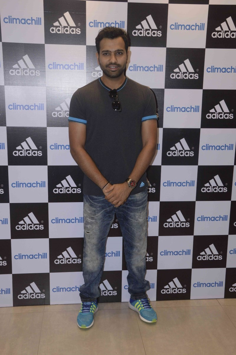 Rohit Sharma Unveils Adidas Climachill,Rohit Sharma,cricket player Rohit Sharma,cricket player,Adidas Climachill,Adidas,Rohit Sharma pics,Rohit Sharma images,Rohit Sharma stills,Rohit Sharma pictures