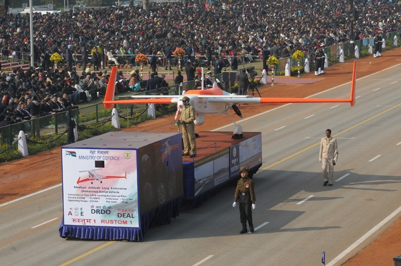 indias 63rd republic day celebrated in parade photos