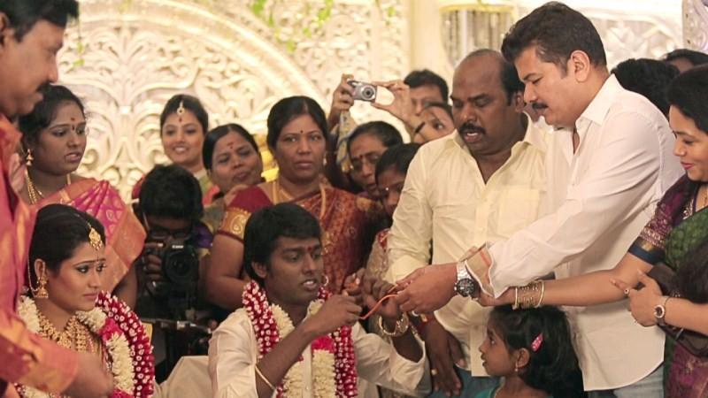 Shankar at Atlee-Krishna Priya's Marriage