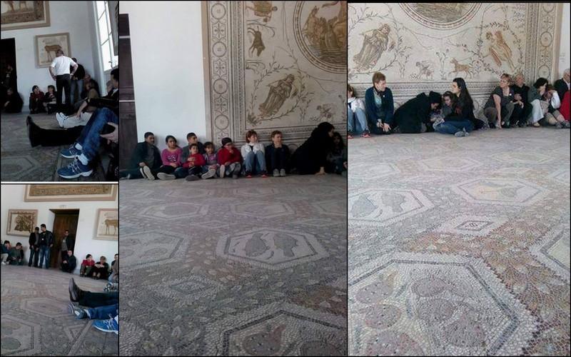 Images showing hostages inside Bardo Museum,Tunisia