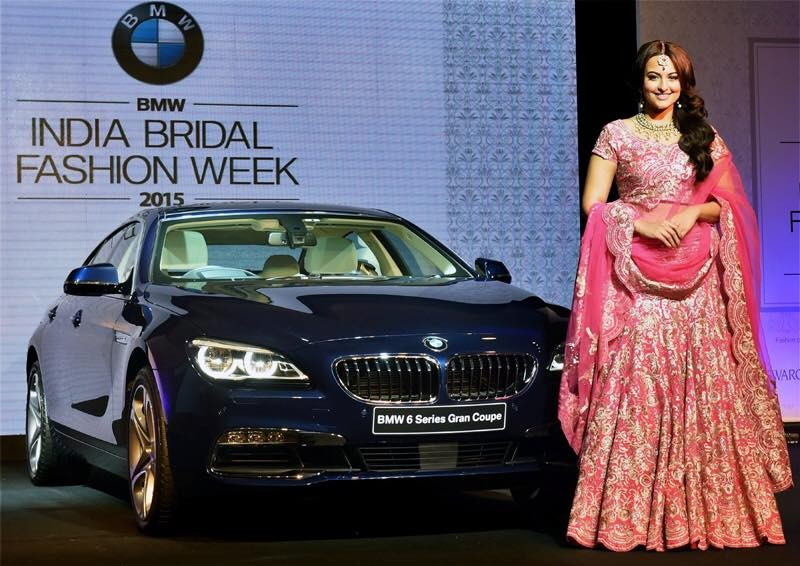 Sonaksji Sinha Launches BMW series 6 Gran Coupe