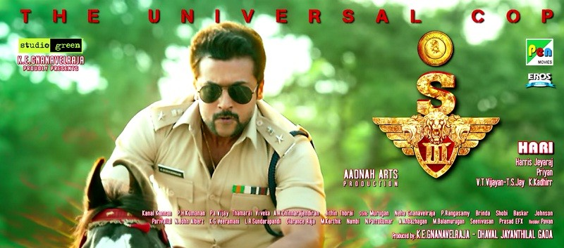 singam 3 aka s3 teaser review suriya thrills viewers with action