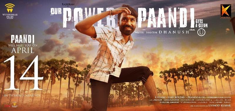 Power Paandi Full Movie Download Free HD DVDRip