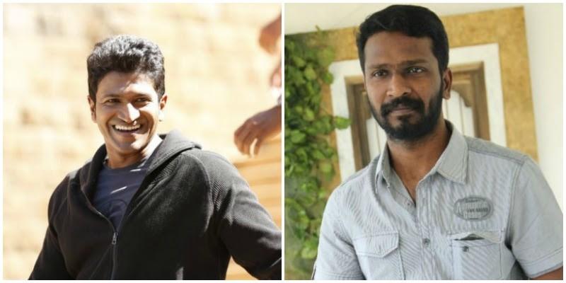 Vetrimaaran to direct Puneeth Rajkumar