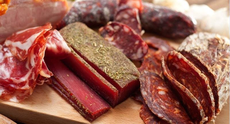 processed meat,