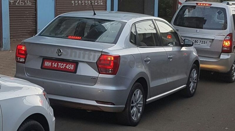 Volkswagen Ameo spotted testing ahead of June launch