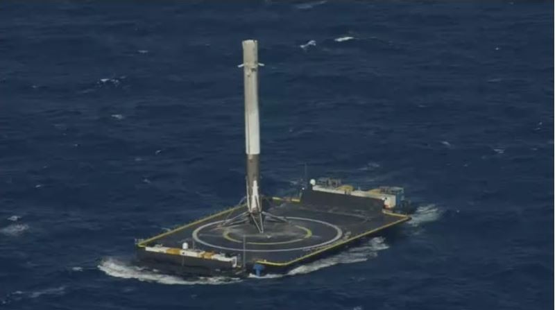 SpaceX successfully landed on a drone ship