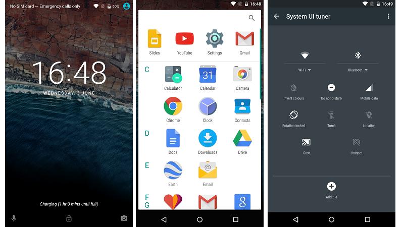 Android M Screenshots