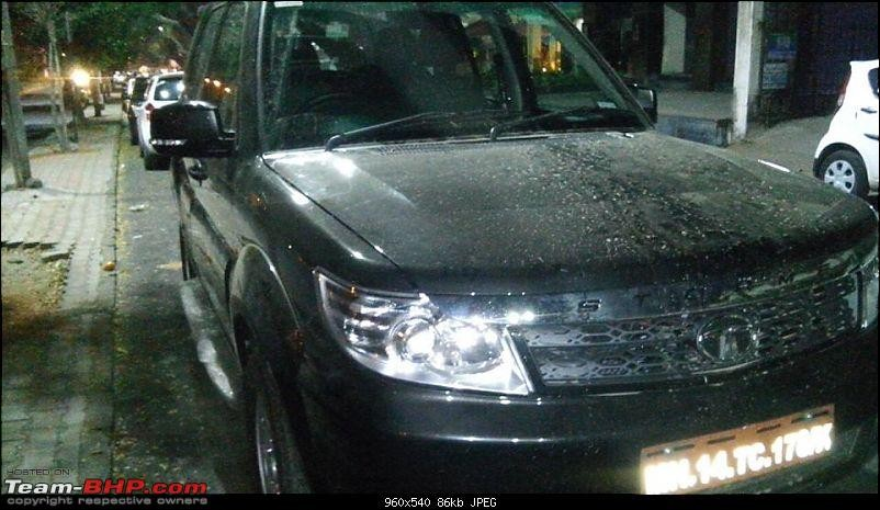 Tata Safari Storme Facelift Spied Undisguised; Expected Launch, Feature Details