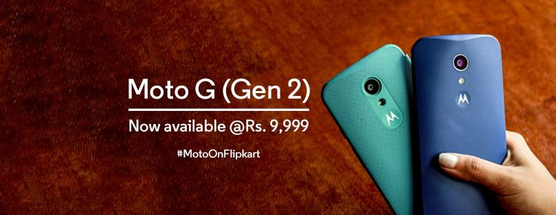Motorola Moto G (2 Gen) Price Slashed on Flipkart Ahead of Successor's Launch