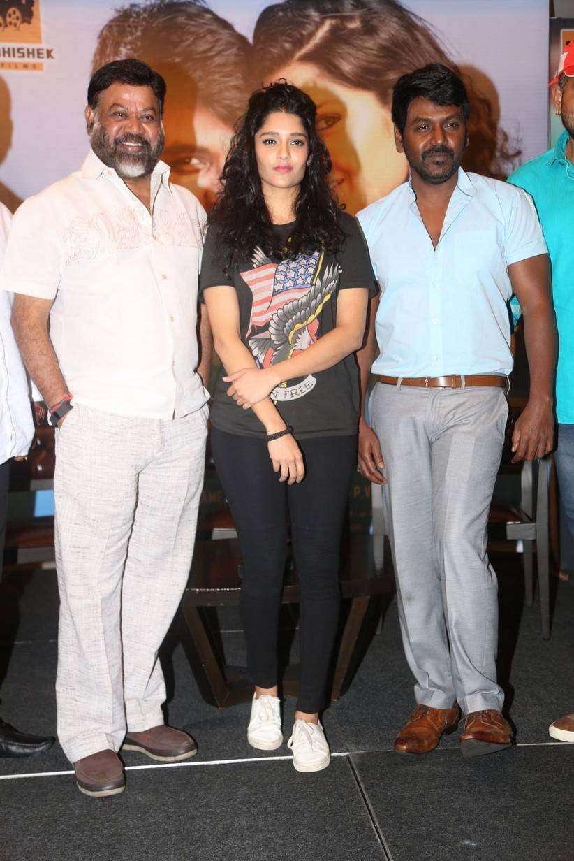Raghava Lawrence,Ritika Singh,Shivalinga,Shivalinga press meet,Shivalinga press meet pics,Shivalinga press meet images,Shivalinga press meet photos,Shivalinga press meet stills,Shivalinga press meet pictures