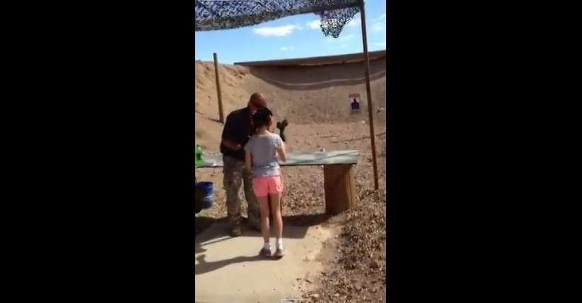 A 9-year-old girl accidentally killed her instructor who was teaching her how to fire Uzi gun.