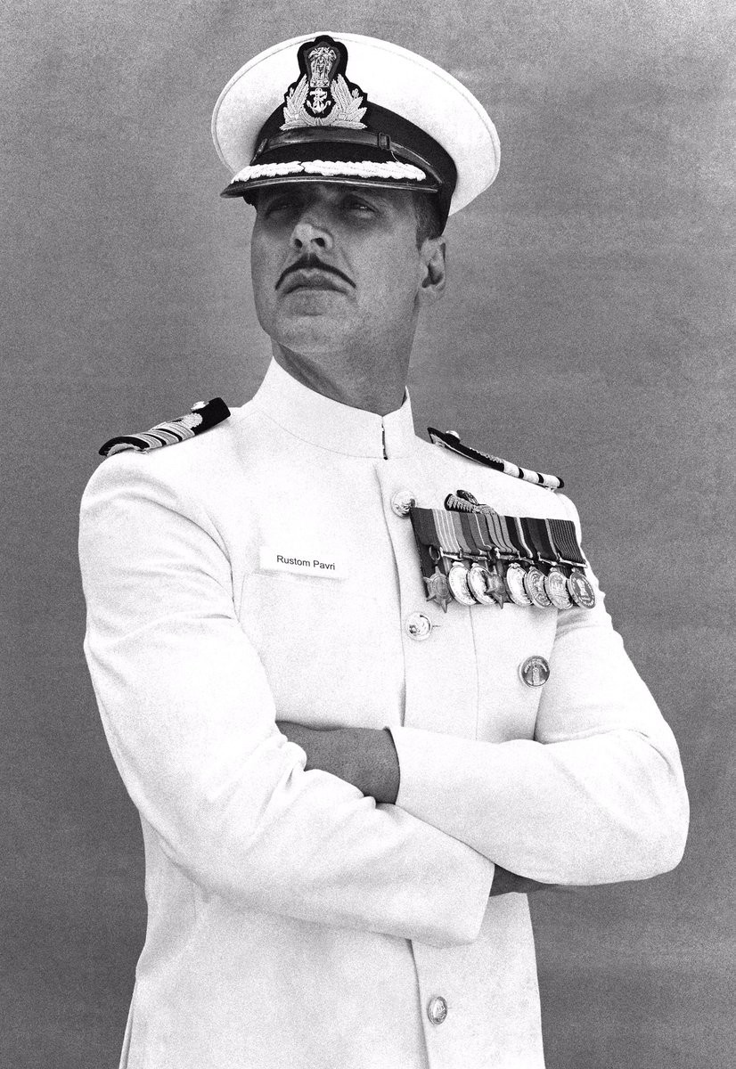 Akshay Kumar,Rustom,Rustom first look,Rustom first look poster,rustom first look revealed,Rustom poster,Akshay Kumar as Rustom,bollywood movie Rustom,Rustom movie stills,Rustom movie pics,Rustom movie images,Rustom movie photos