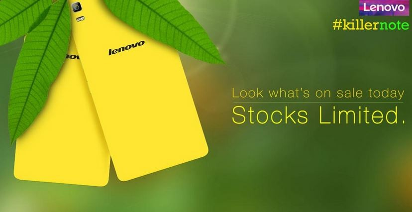 Limited Edition Lenovo K3 Note Yellow Model Now Available on Flipkart; Price, Specifications