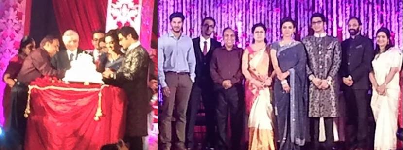 Ravi Pillai's Daughter's Wedding Reception