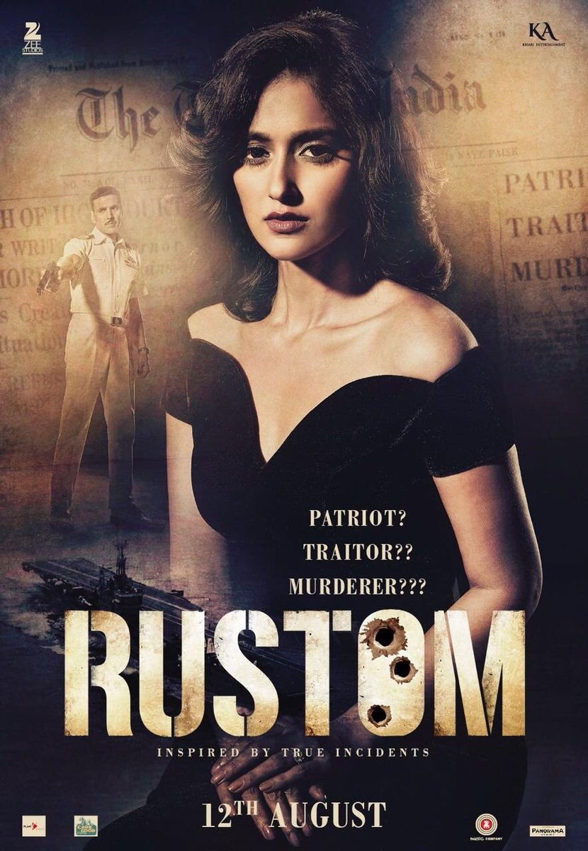 RUSTOM review,RUSTOM movie review,Akshay Kumar,Ileana D'Cruz,5 reason to watch RUSTOM,RUSTOM movie,Bollywood movie RUSTOM