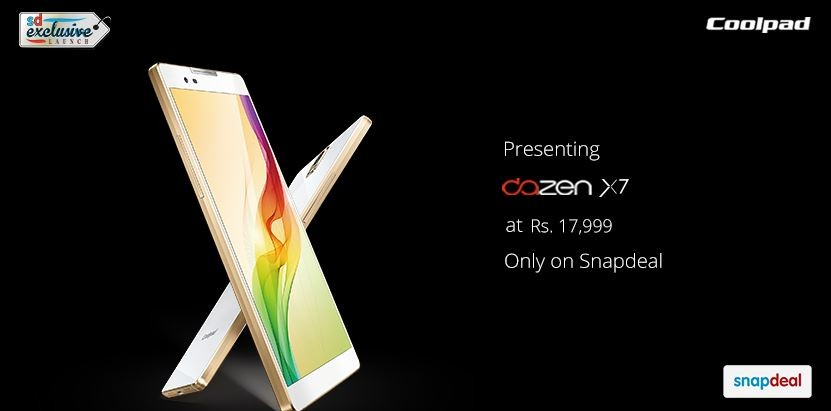 Coolpad Officially Launches Dazen 1, X7 in India; Price, Specifications