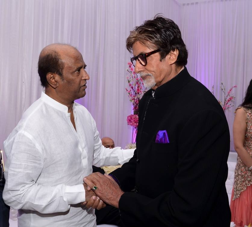 Rajinikanth and Amitabh Bachchan